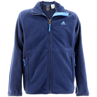 Boys Fleece Jacket, Collegiate Navy