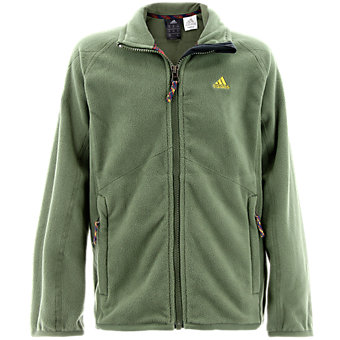 Boys Fleece Jacket, Base Green