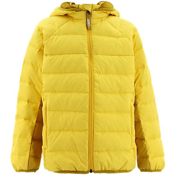 Kids Froosty Hooded Jacket, Super Yellow/Raw Ochre, large