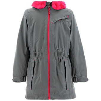 Girls Climaproof Storm Parka, Vista Gray