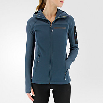 Terrex Stockhorn Fleece, Midnight, medium