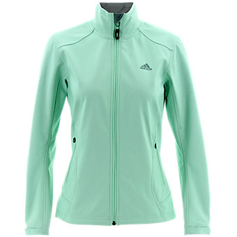 W Hiking Softshell Jacket, Frozen Green, medium