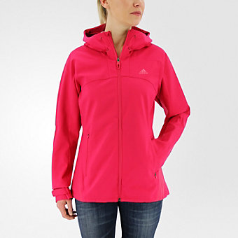 W Terrex Swift Softshell Jacket, Vivid Berry