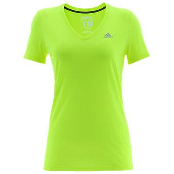Ultimate Short Sleeve V-neck, Solar Yellow/Matte Silver