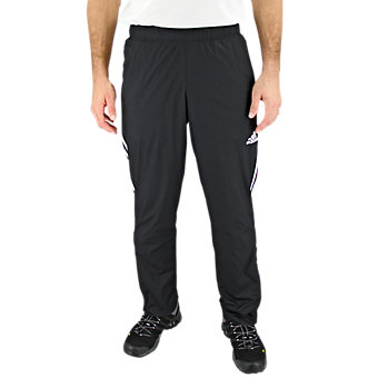 Essential Woven Pant, Black/Black/White, medium