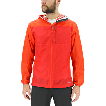 2.5 Layer Fast Pack Jacket, Bold Orange
