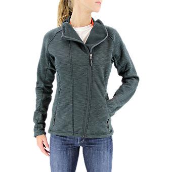 Climaheat Fleece Jacket, Heather Dark Gray Melangeange