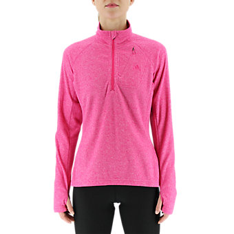 Hiking Reachout Fleece, Eqt Pink