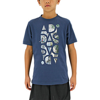 Graphic Tee, Mineral Blue
