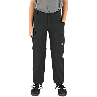 Stretch Zip-off Pant, Black