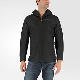 Terrex Agravic Windstopper Hybrid Softshell Hoodie, Black