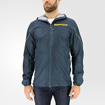 Terrex Agravic Windstopper Hybrid Softshell Hoodie, Midnight