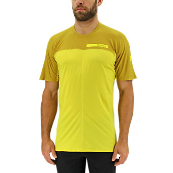 Terrex Solo Tee, Bright Yellow/Raw Ochre
