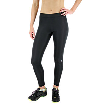 Techfit Long Tight, Black/Matte Silver