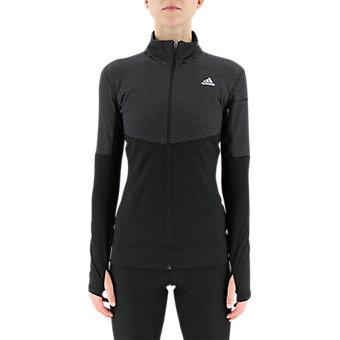 Lightweight Full Zip, Black/Matte Silver