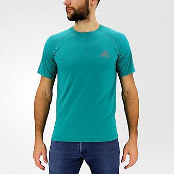 Ultimate Short Sleeve Tee, Eqt Green/dark Solid Gray