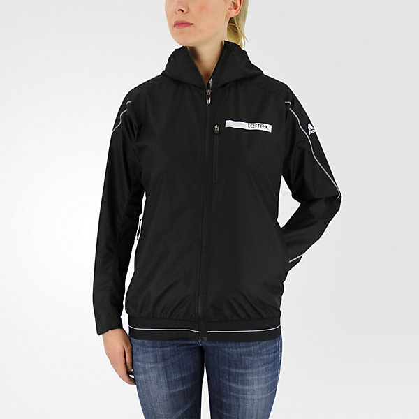 Terrex Agravic Hybrid Softshell Jacket, Black, large