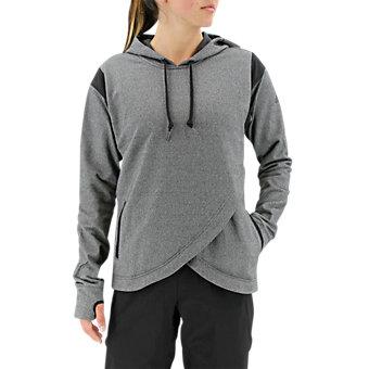 Sport To Street Pullover Hoody, Dark Solid Gray/Black