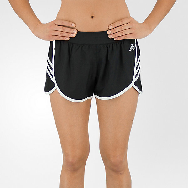 Ultimate Woven 3-Stripe Short, Black/white, large