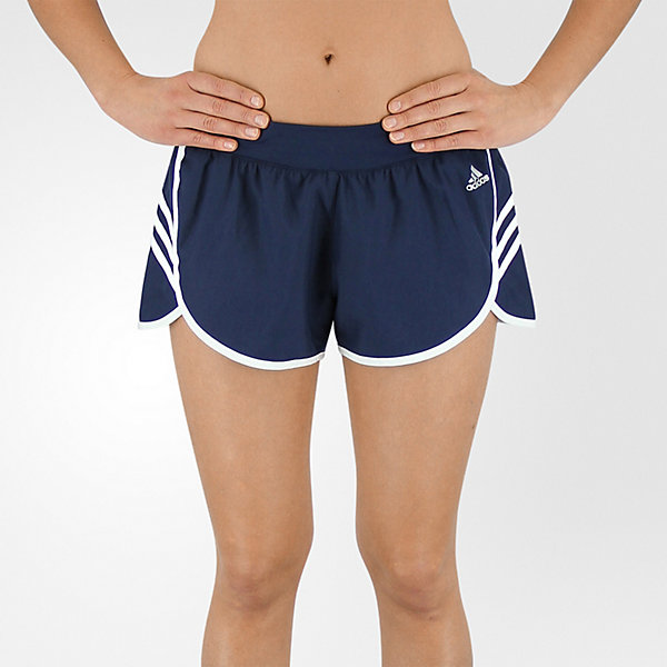 Ultimate Woven 3-Stripe Short, Collegiate Navy/white, large