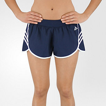 Ultimate Woven 3-Stripe Short, Collegiate Navy/white