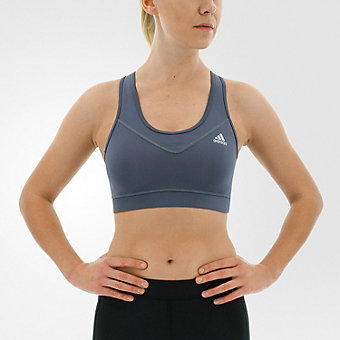 Techfit Bra, Onix/matte Silver, medium