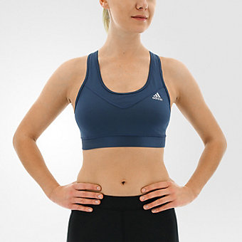 Techfit Bra Solid, Mineral Blue