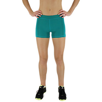 Techfit Boy Short 3 Inch, Eqt Green/Shock Green/Matte Silver