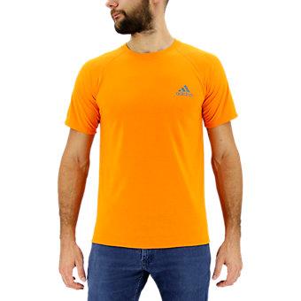 Ultimate Short Sleeve Tee, Eqt Orange/Dark Solid Gray