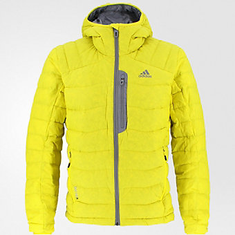 Terrex Dawn Wall Hoodie, Vivid Yellow