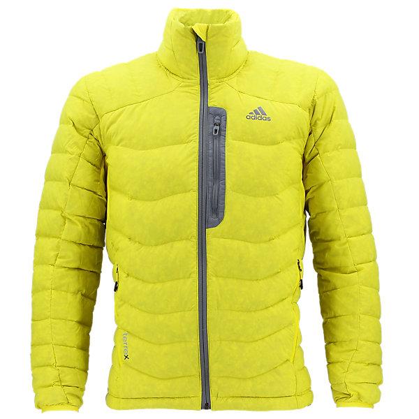 Terrex Dawn Wall Jacket, Vivid Yellow, large