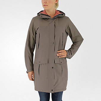 Climaproof Insulated Parka, Tech Earth