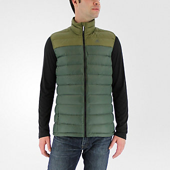 Light Down Vest, Utility Ivy/Olive Cargo