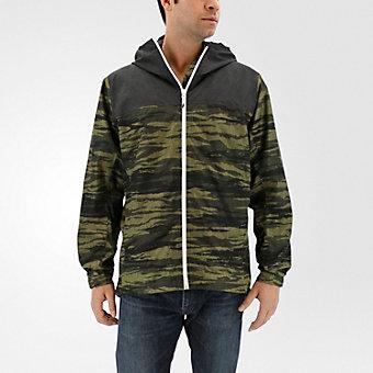 Wandertag Jacket Print, Olive Cargo/utility Black