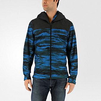Wandertag Jacket Print, Unity Blue/utility Black