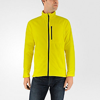 Reachout Fleece Jacket, Bright Yellow
