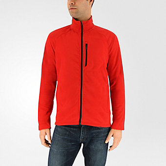 Reachout Fleece Jacket, Scarlet
