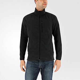 Reachout Fleece Jacket, BLACK