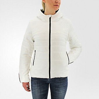 Insulated Jacket, Core White