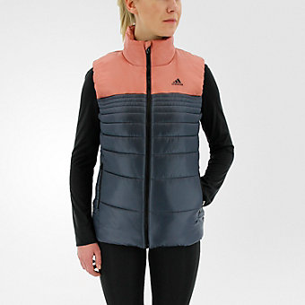 Insulated Vest, Utility Blue/Raw Pink