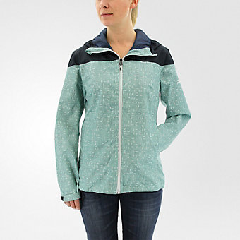 Wandertag Jacket Print, Vapour Steel/Mineral Blue
