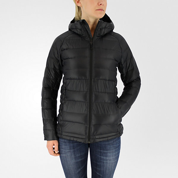 Frost Hooded Jacket, Black/utility Black, large