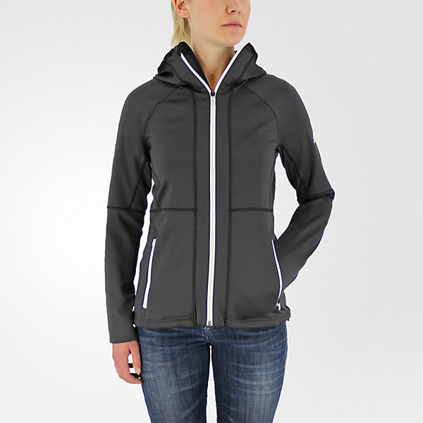 1-Side Hooded Fleece, Utility Black, large