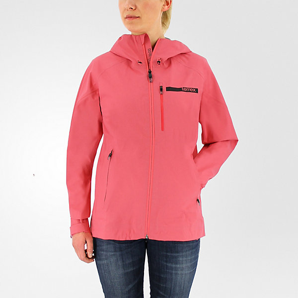 Terrex FastR Gore-Tex Active Shell Hooded Jacket, Super Blush, large