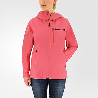 Terrex Fastr Gtx Active Shell Hooded Jacket, Super Blush