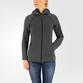 Terrex Stockhorn Hooded Fleece Jacket, Utility Black