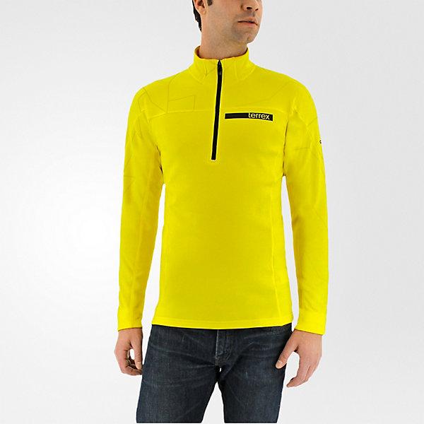 Terrex Icesky Longsleeve II, Bright Yellow, large
