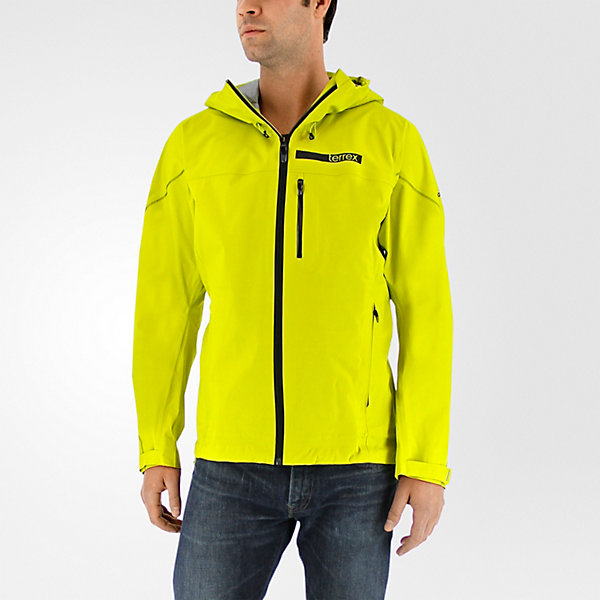 Terrex Fastr Gtx Active Shell 3 Jacket, Unity Lime, large