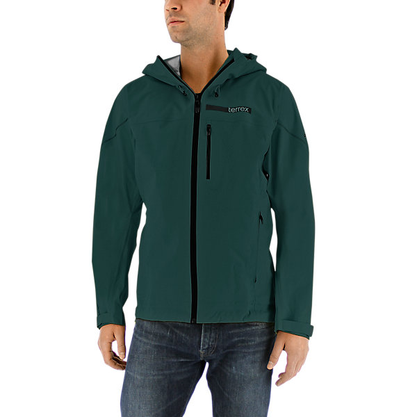 Terrex Fastr Gtx Active Shell 3 Jacket, Utility Green, large