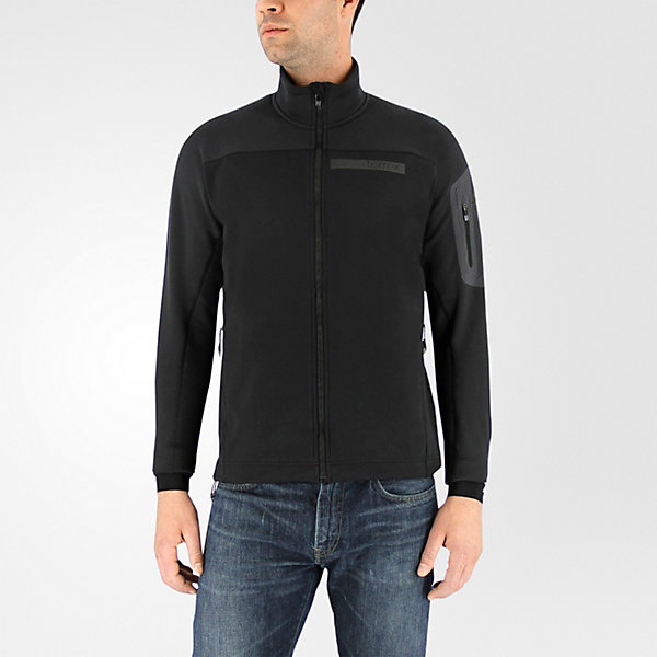 Terrex Stockhorn Fleece Jacket, Black, large